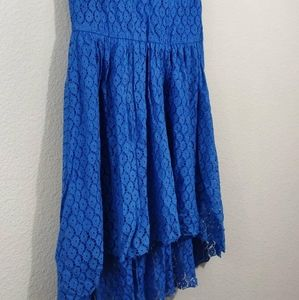 Very J Dresses - 🏷️Very J | Blue Hi-Lo Sheath Dress / Size: Medium